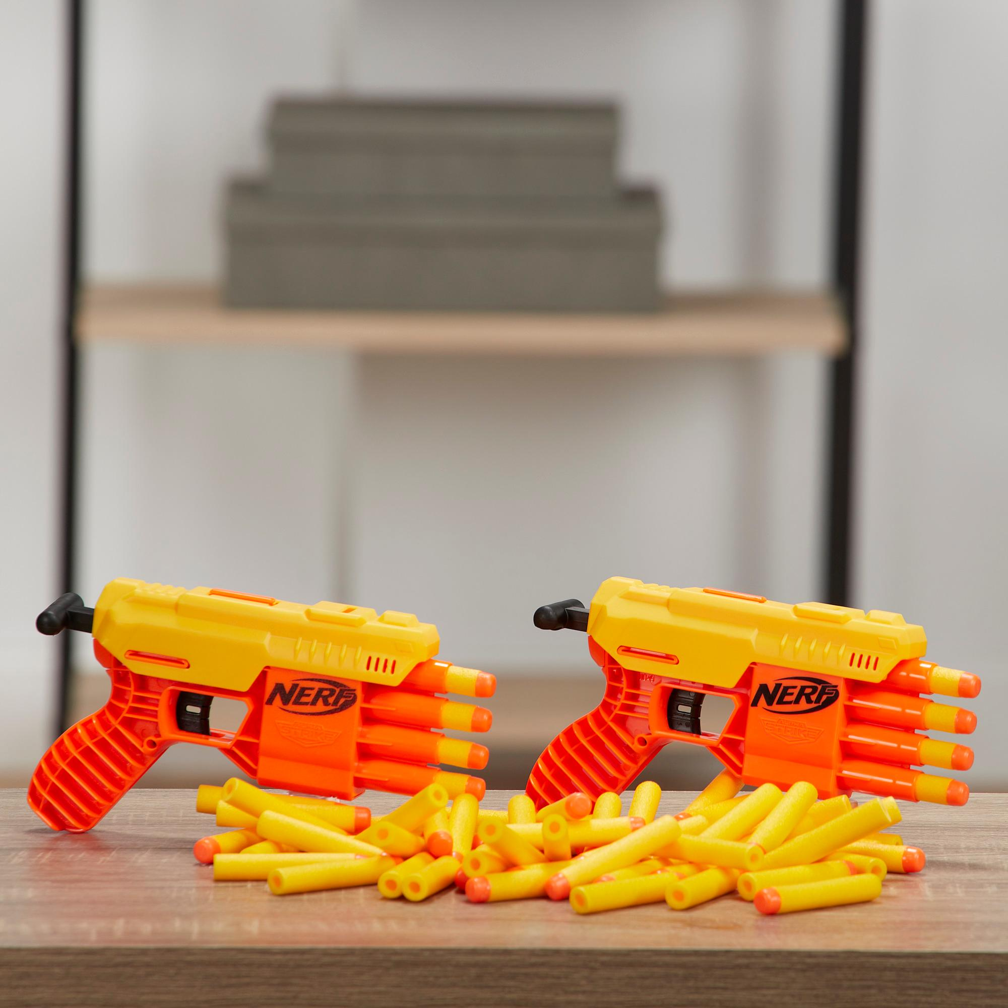 Set de recarga total Fang QS-4 de 70 piezas -- Set Nerf Alpha Strike