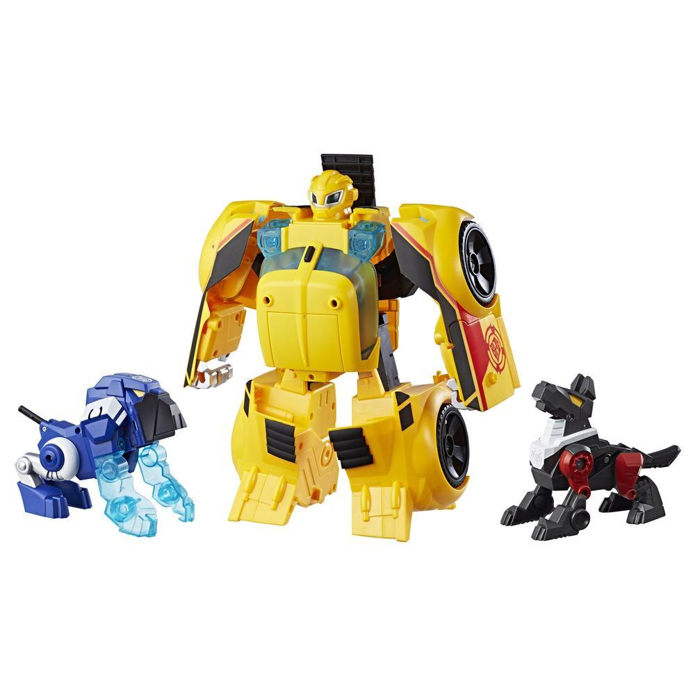 Playskool Heroes Transformers Rescue Bots - Bumblebee Guardia de rescate