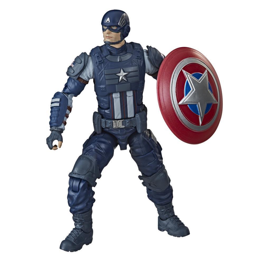Hasbro Marvel Legends Series Gamerverse - Figura coleccionable del Capitán América de 15 cm - Edad: 4 años en adelante