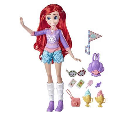 Disney Princess Comfy Squad - Ariel Dulce vestimenta - Muñeca con ropa y accesorios - Para niñas de 5 años en adelante