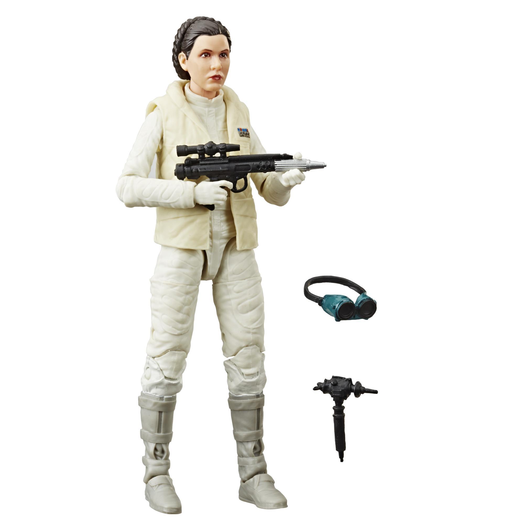 Star Wars The Black Series - Figura de Princess Leia Organa (Hoth) de 15 cm - Star Wars: El Imperio contraataca