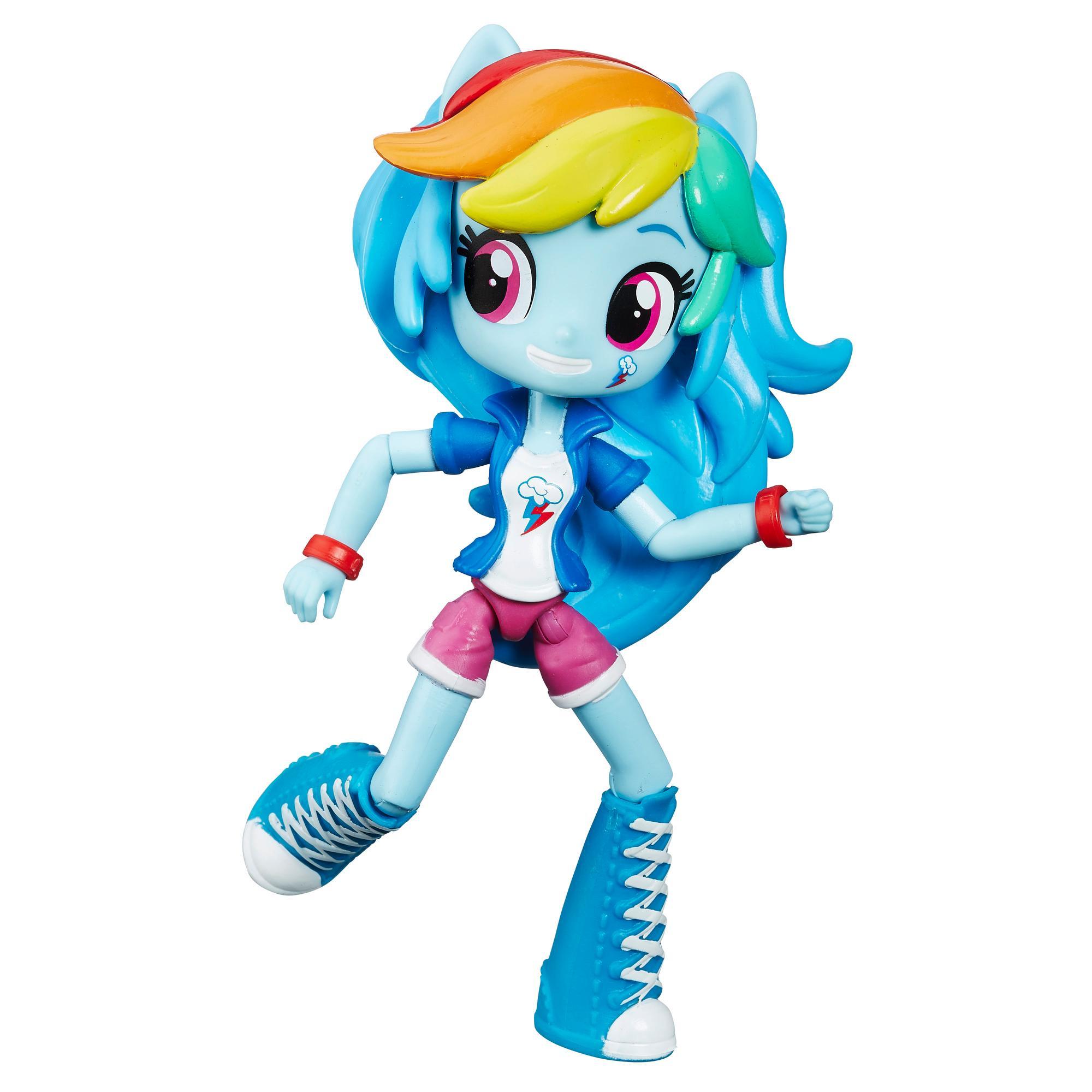 Muñeca de Rainbow Dash My Little Pony Equestria Girls Minis