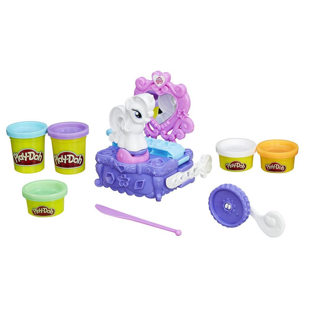 Set El tocador de Rarity de Play-Doh My Little Pony
