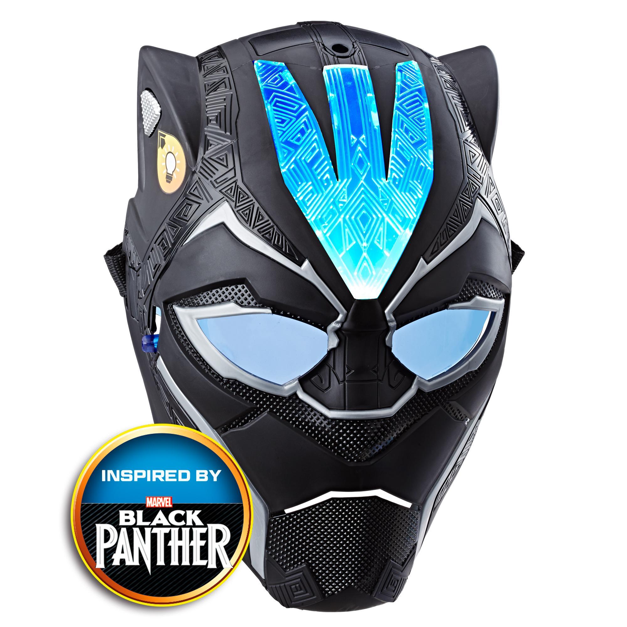 Marvel Black Panther - Máscara de poder Vibranium