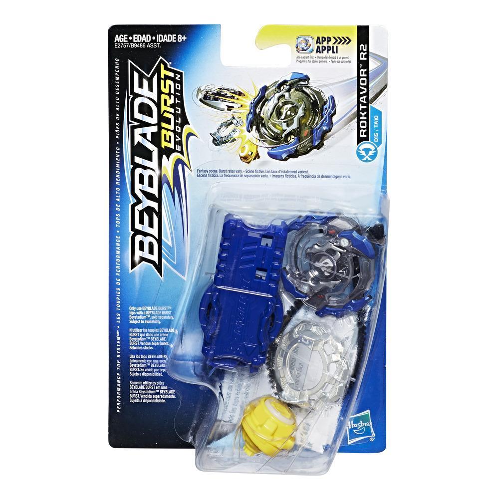 Beyblade Burst Evolution - Empaque de inicio - Roktavor R2
