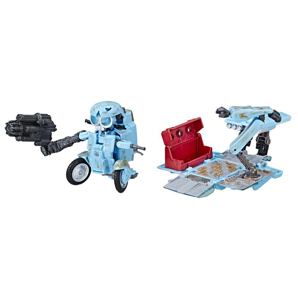 Transformers: The Last Knight Premier Autobot Sqweeks Edición de lujo