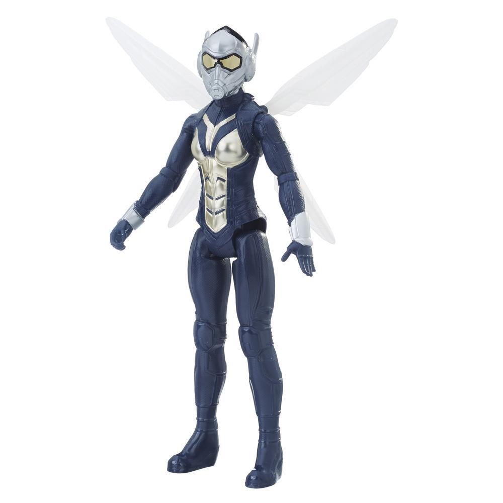 Marvel Ant-Man and The Wasp Titan Hero Series - Marvel's Wasp con puerto para Titan Hero Power FX