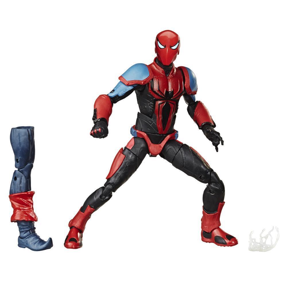 Hasbro Marvel Spider-Man Legends Series - Figura Spider-Armor MK III de 15 cm con pieza de figura para armar