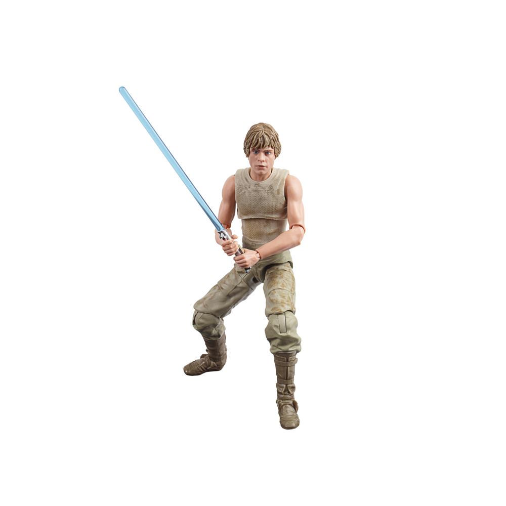 Star Wars The Black Series - Luke Skywalker (Dagobah) a escala de 15 cm - Star Wars: El Imperio contraataca