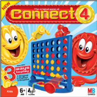HASBRO GAMES - Connect Four x Four