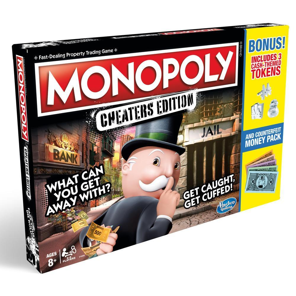 MONOPOLY EDICIÓN PARA TRAMPOSOS VALUE PACK