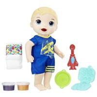 Baby Alive Super Snacks - Luke Comiditas Divertidas (rubio)