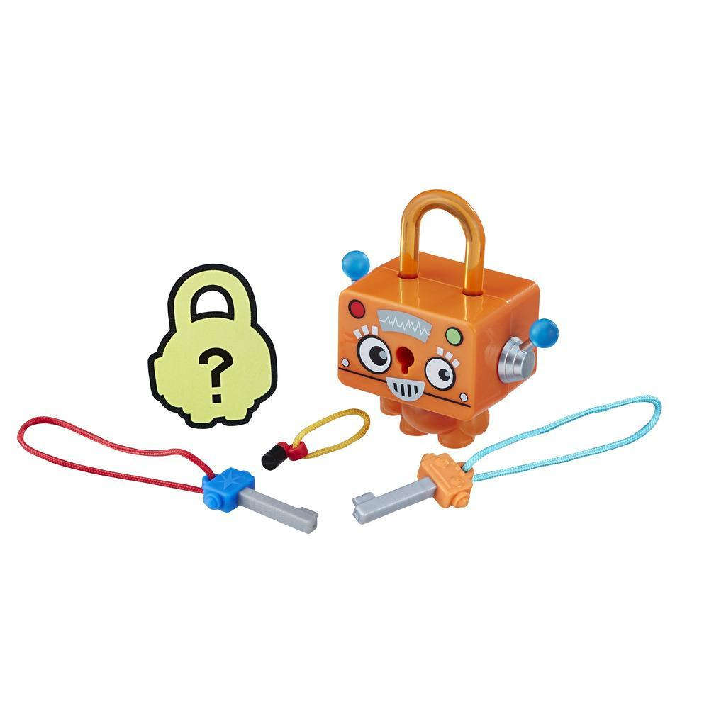 Lock Stars Robot naranja - Serie 1