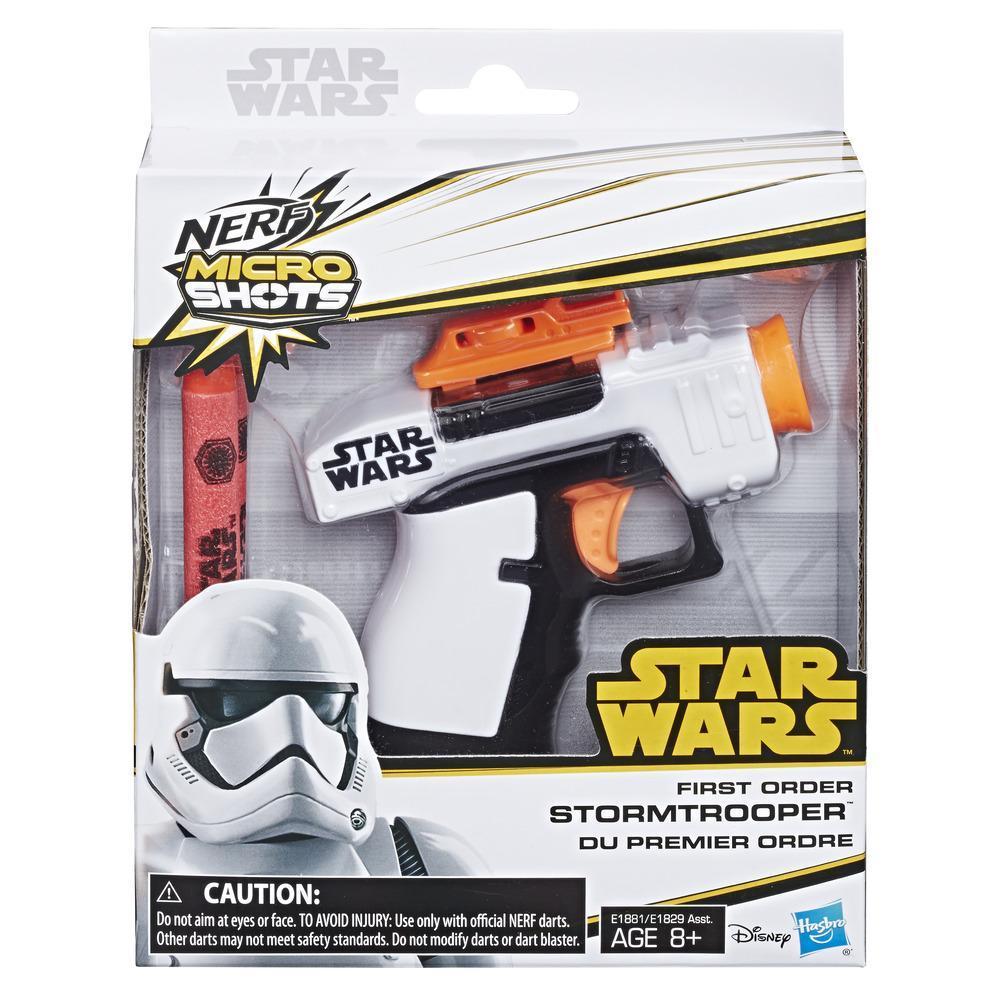 Nerf MicroShots Star Wars - Rifle láser de Stormtrooper