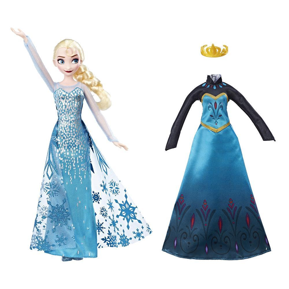 Moda real de Elsa de Frozen Una aventura congelada de Disney