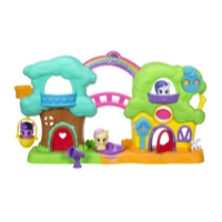 Playskool Friends My Little Pony Casita del árbol musical