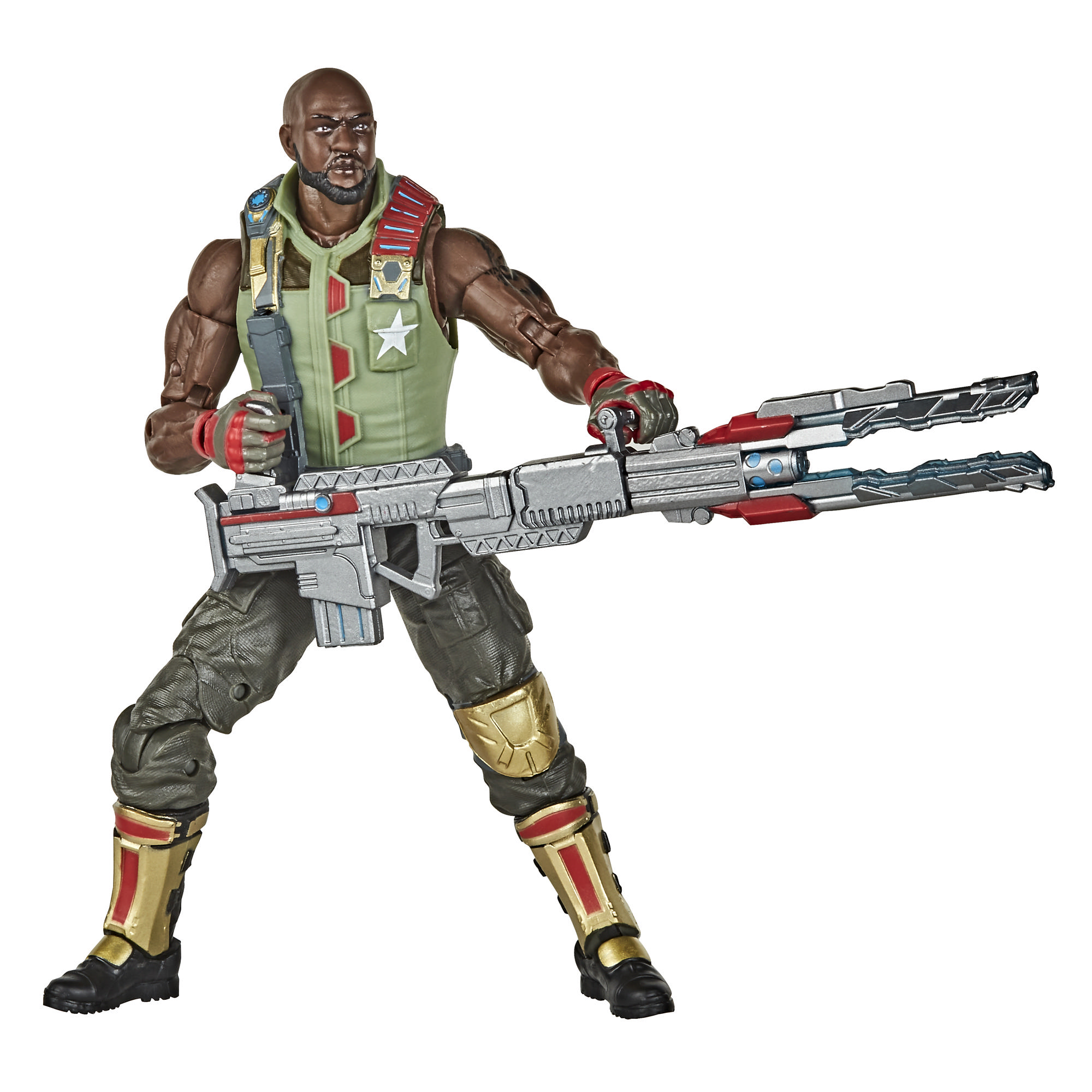 G.I. Joe Classified Series - Figura Roadblock 01 con múltiples accesorios