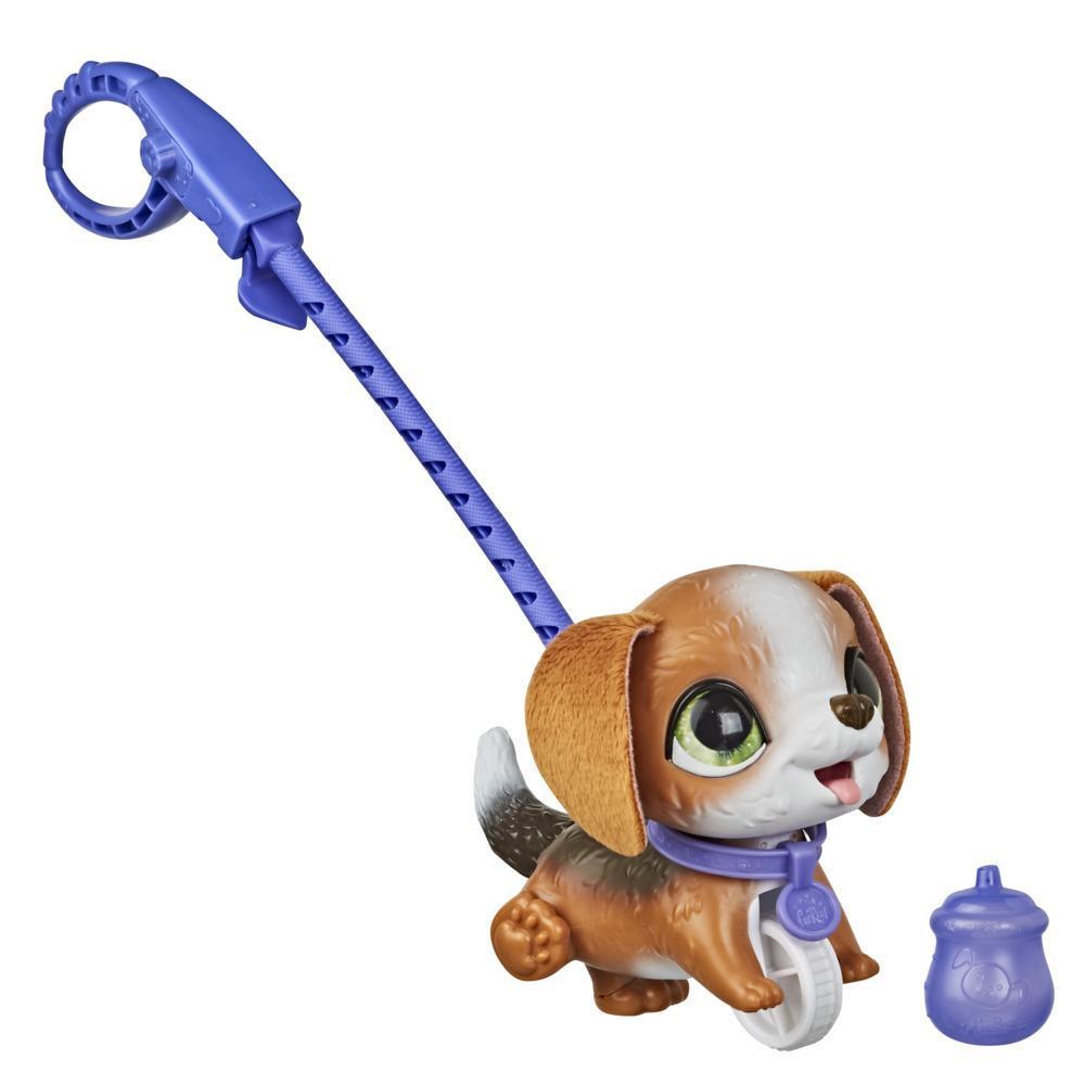 furReal Peealots Pequeños paseos - Beagle - Perrito de juguete interactivo