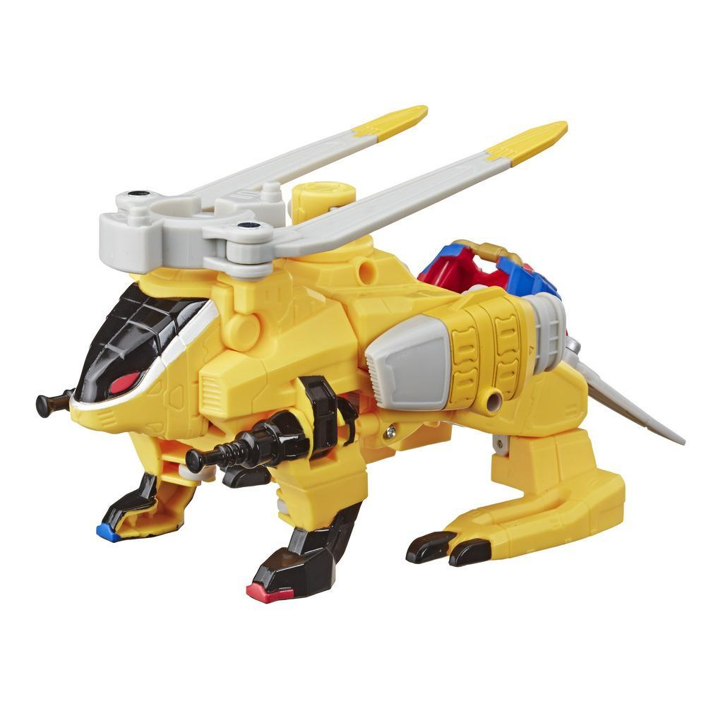 Power Rangers Beast Morphers - Zord convertible Bestia-Helicóptero - Figura de acción Power Rangers de la serie de TV Power Rangers