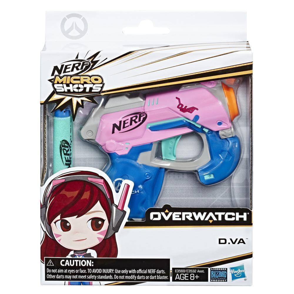 Nerf MicroShots Overwatch D.Va
