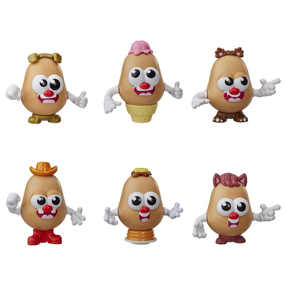 Mr. Potato Head Tots - Minifiguras coleccionables - Edad 3+