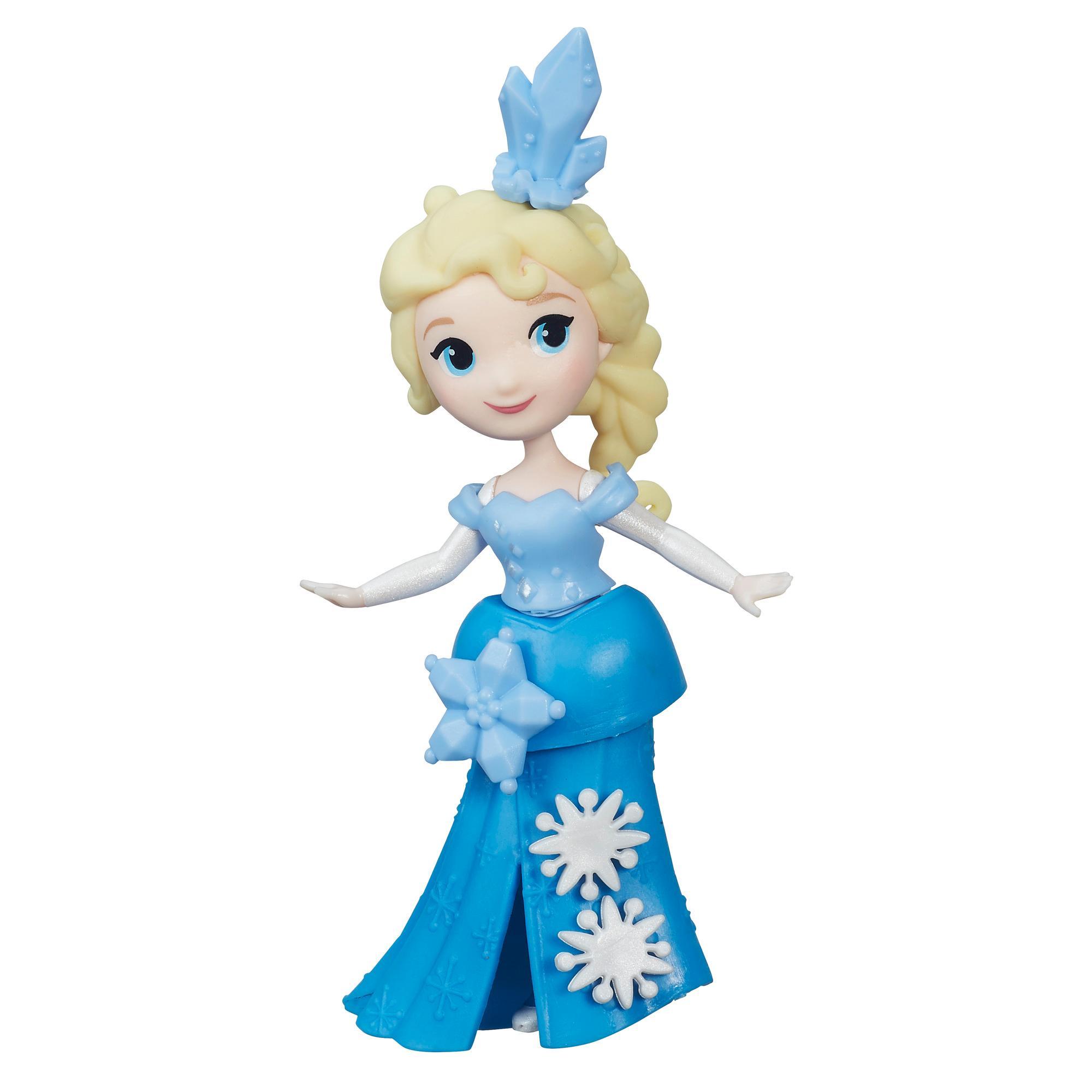 Elsa con vestido de nieve Pequeño Reino de Frozen Una aventura congelada de Disney
