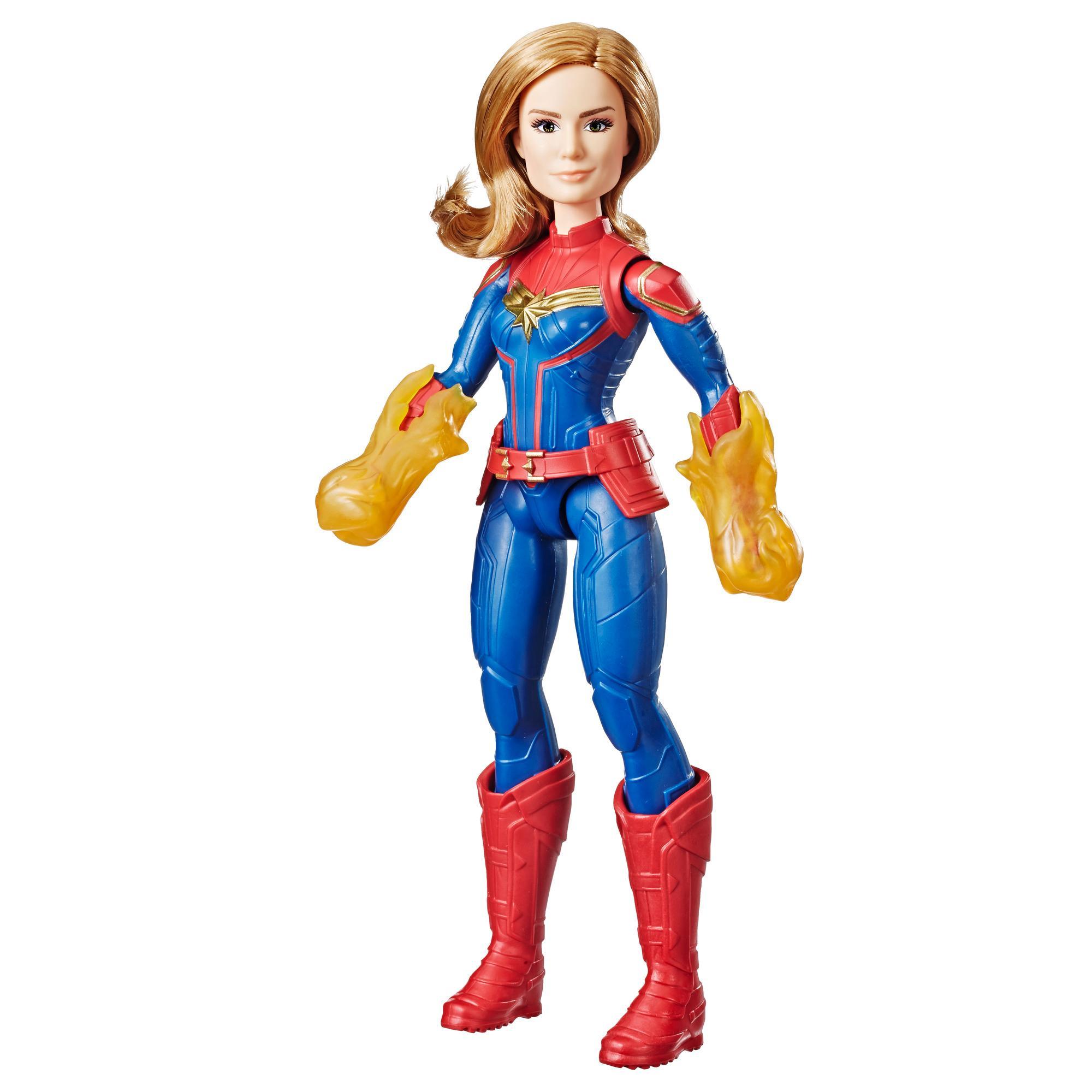 Marvel Captain Marvel Muñeca de Captain Marvel cósmica
