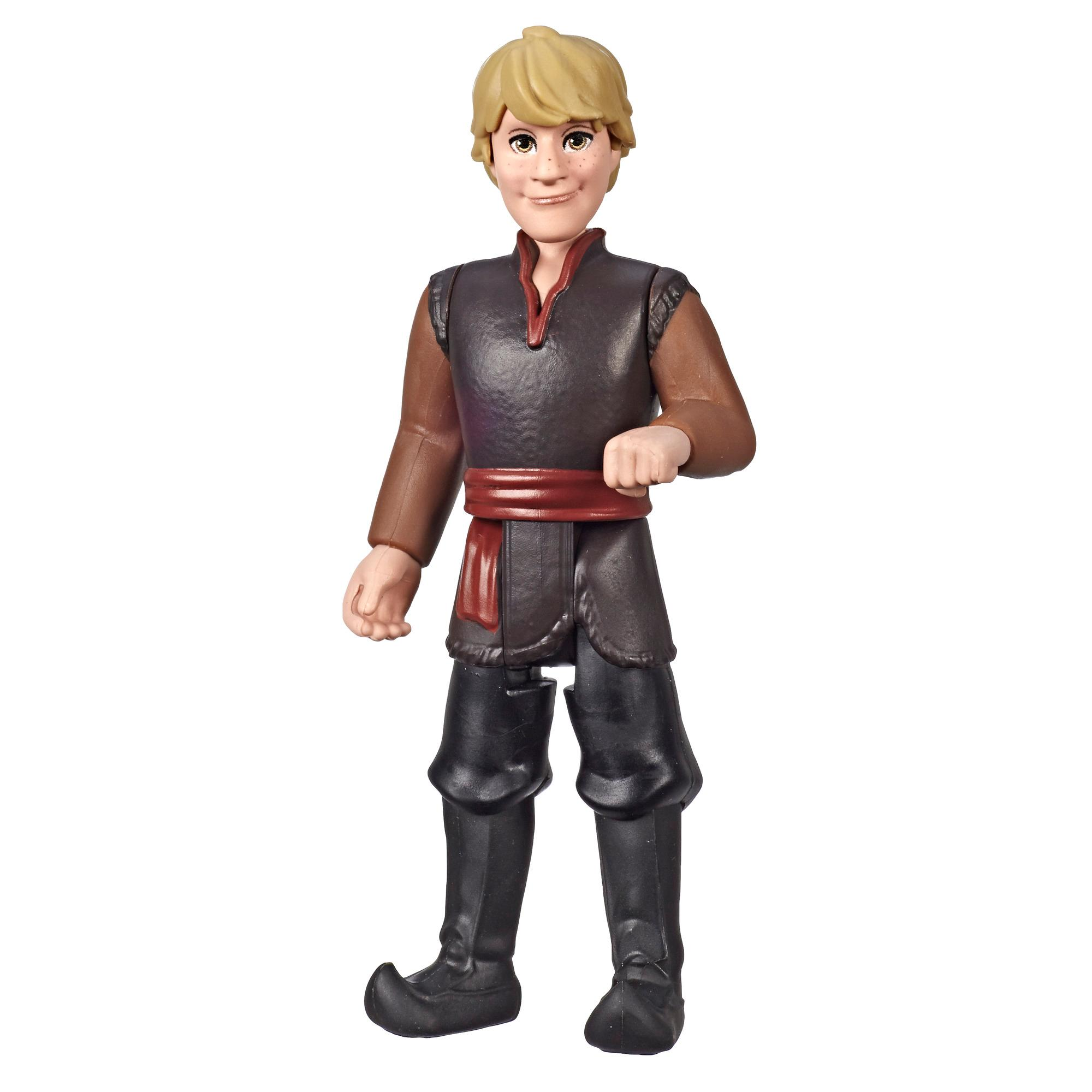 Disney Frozen - Figura de Kristoff con vestimenta marrón, inspirada en la película Frozen 2