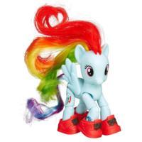 Figura de Rainbow Dash turista My Little Pony La magia de la amistad