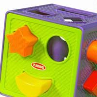 Brinquedo Playskool Cubo com Formas Geométricas de Encaixar