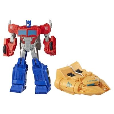 Juguetes Transformers - Cyberverse Spark Armor - Figura de acción Optimus Prime Poder del Arca Product