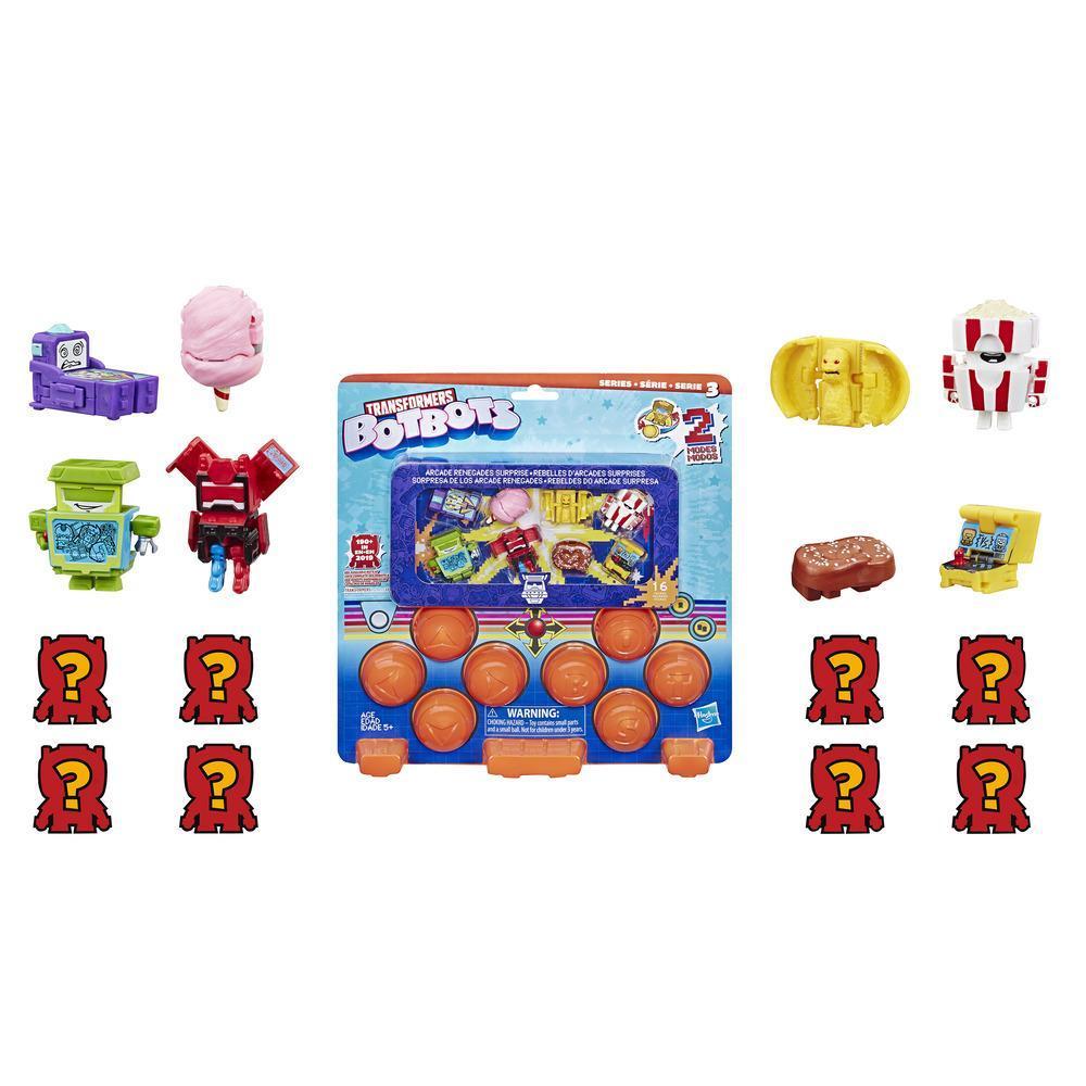 Transformers Toys BotBots - 16 figuras Sorpresa de los Arcade Renegades