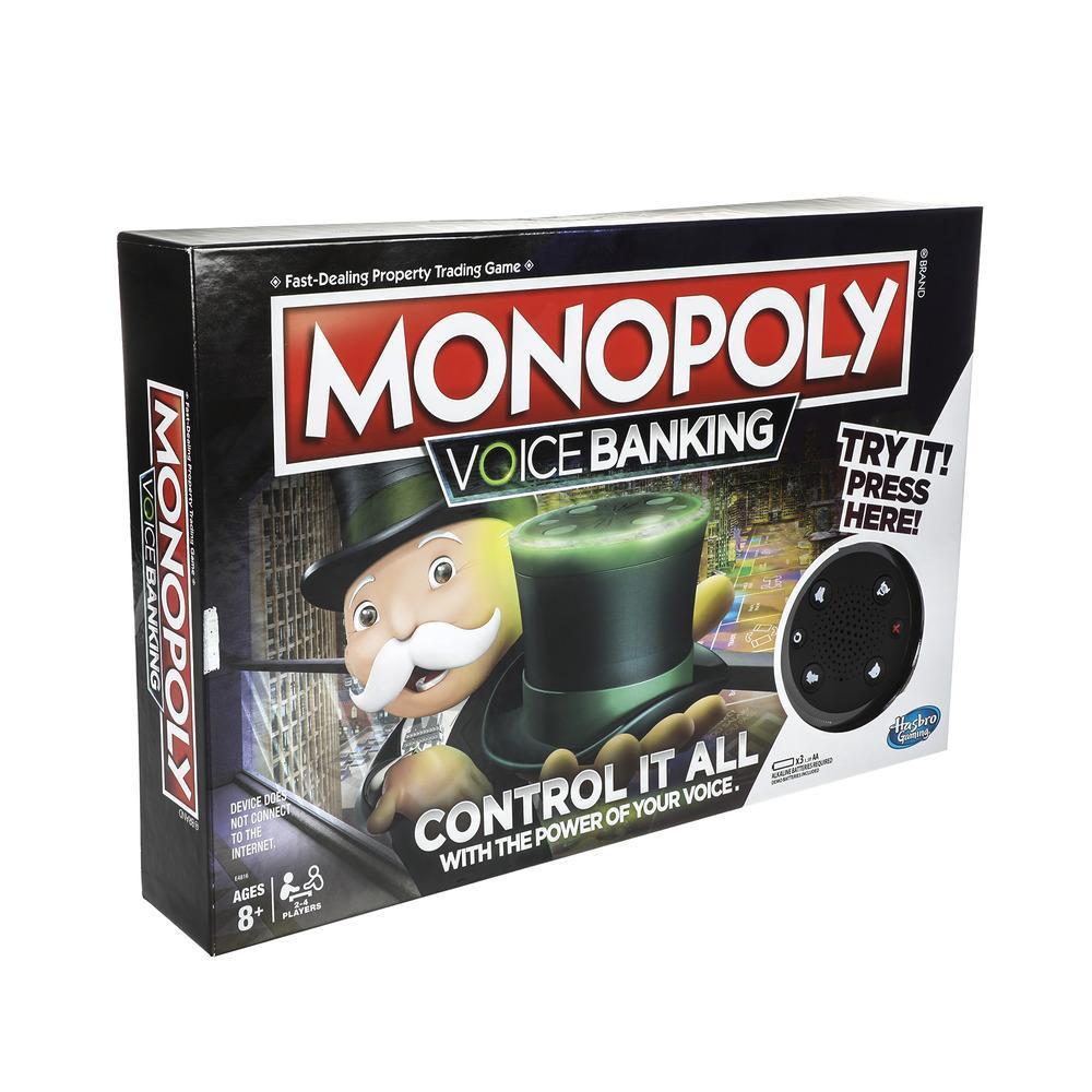 Monopoly Voice Banking - Juego de familia electrónico recomendado