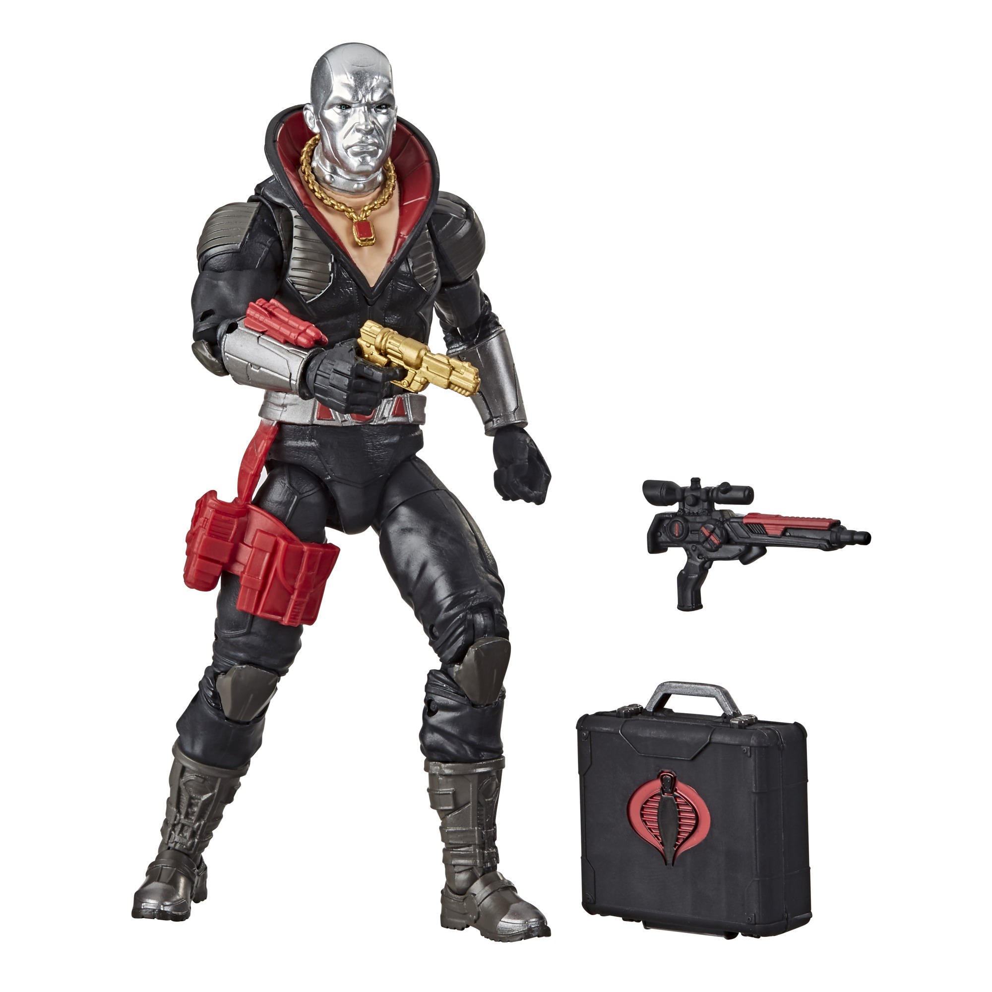G.I. Joe Classified Series - Figura Destro 03 con múltiples accesorios