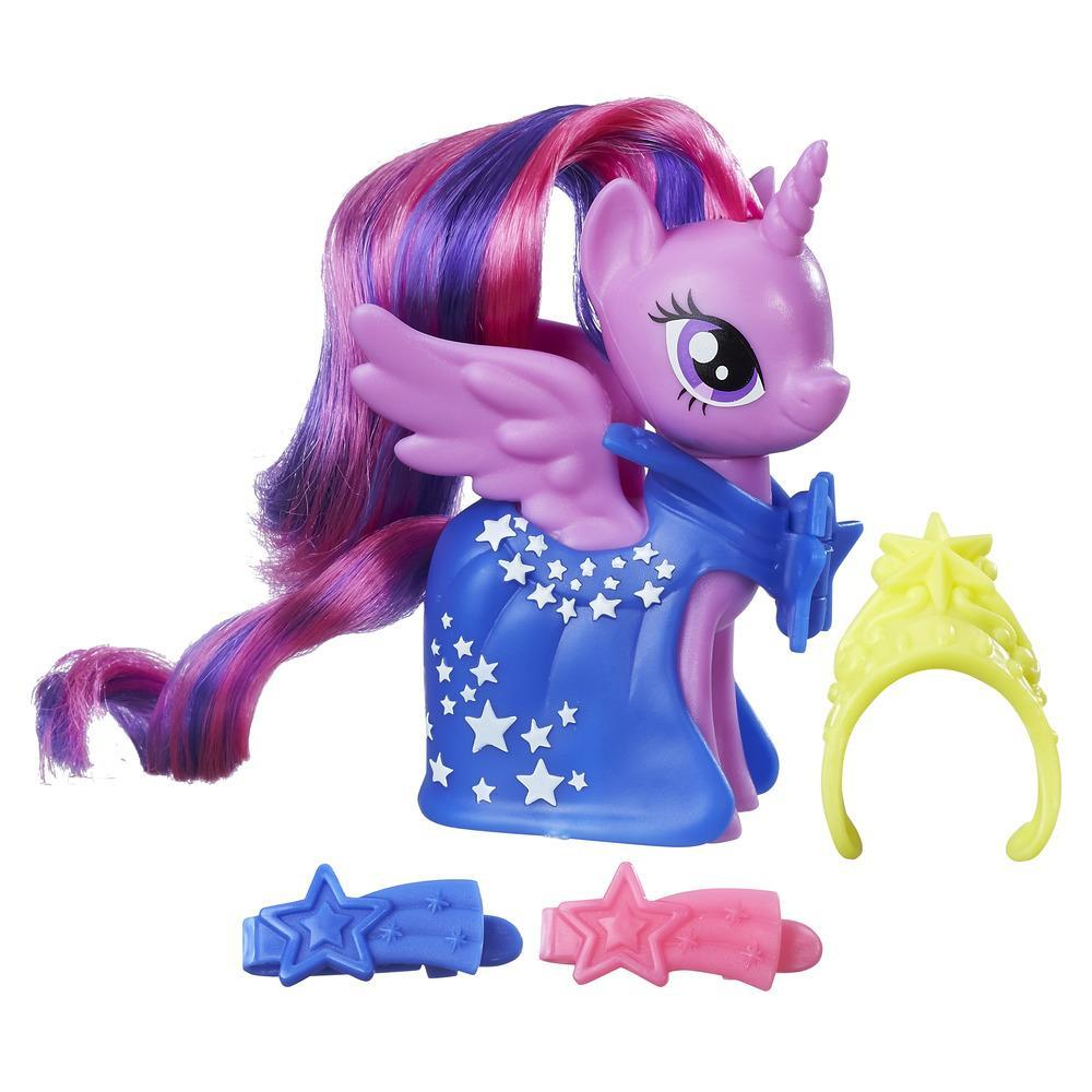 My Little Pony Moda de pasarela - Juego con figura de Princess Twilight Sparkle