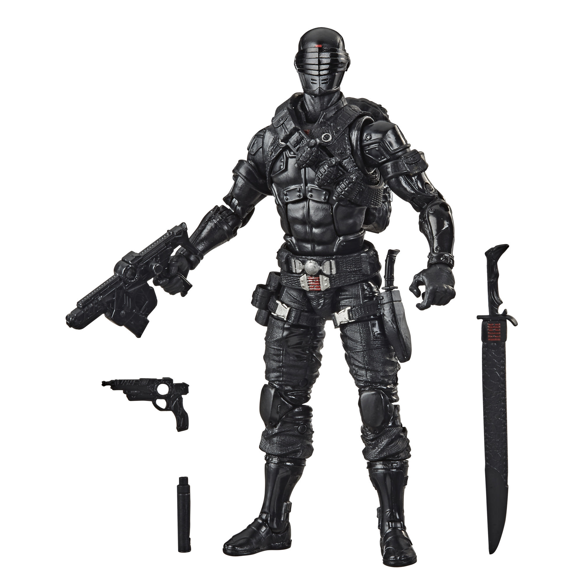 G.I. Joe Classified Series - Figura Snake Eyes 02 con múltiples accesorios
