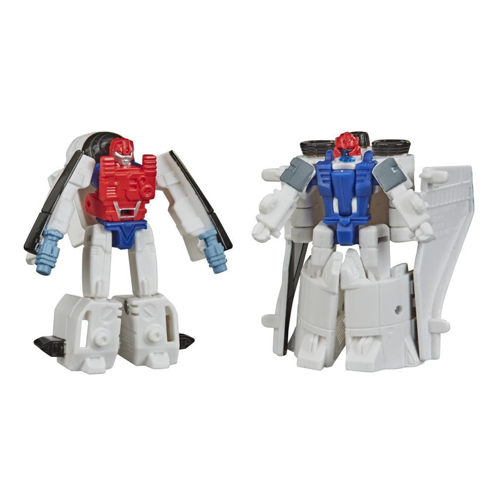 Juguetes Transformers Generations War for Cybertron: Earthrise - Empaque doble Micromaster WFC-E16 Escuadrón estelar - 3,5 cm - Edad: 8+