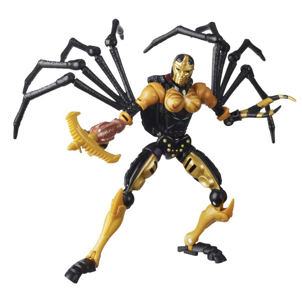 Transformers Generations War for Cybertron: Kingdom WFC-K5 Blackarachnia clase de lujo