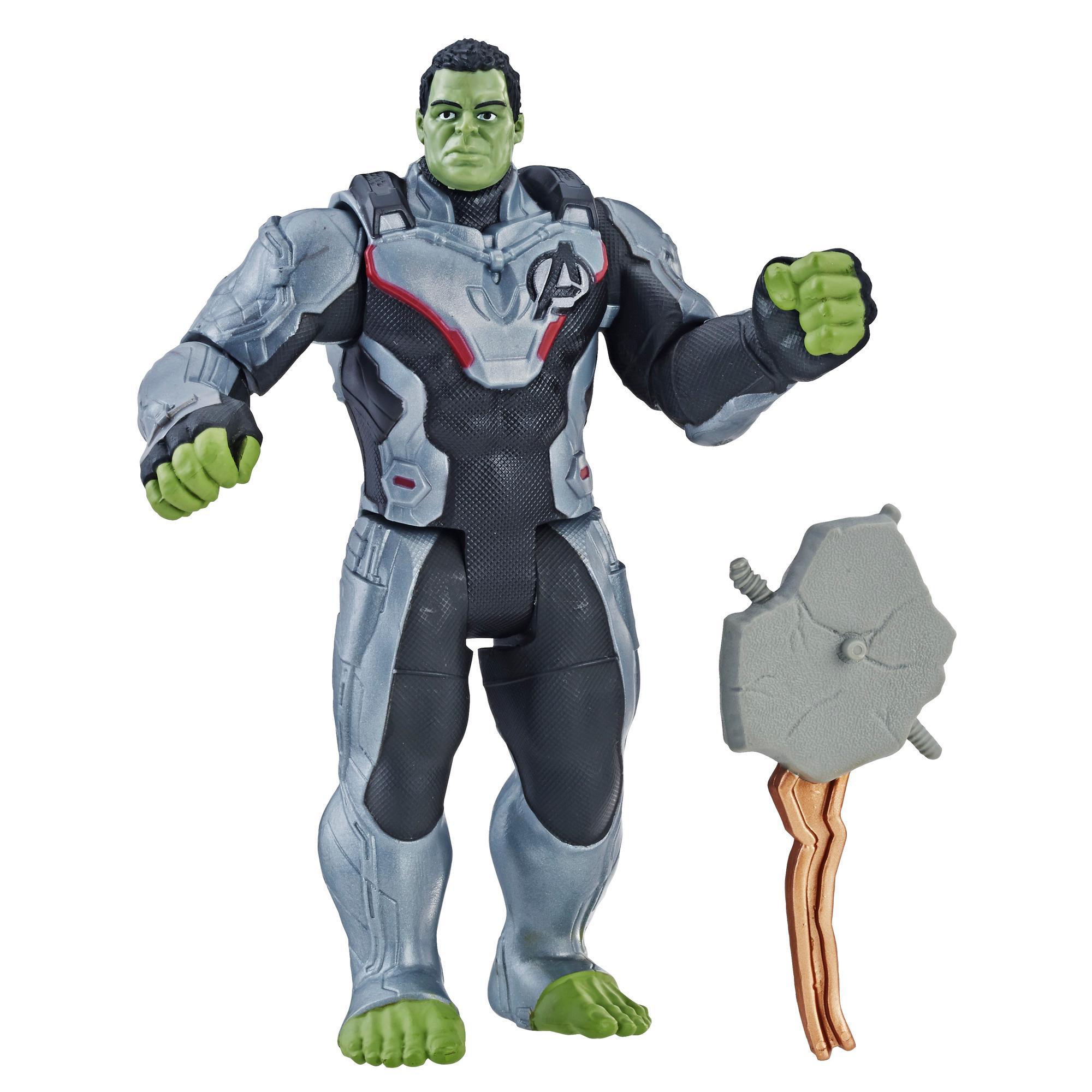 Marvel Avengers: Endgame - Figura de lujo de Hulk con traje del equipo del Universo Cinematográfico de Marvel