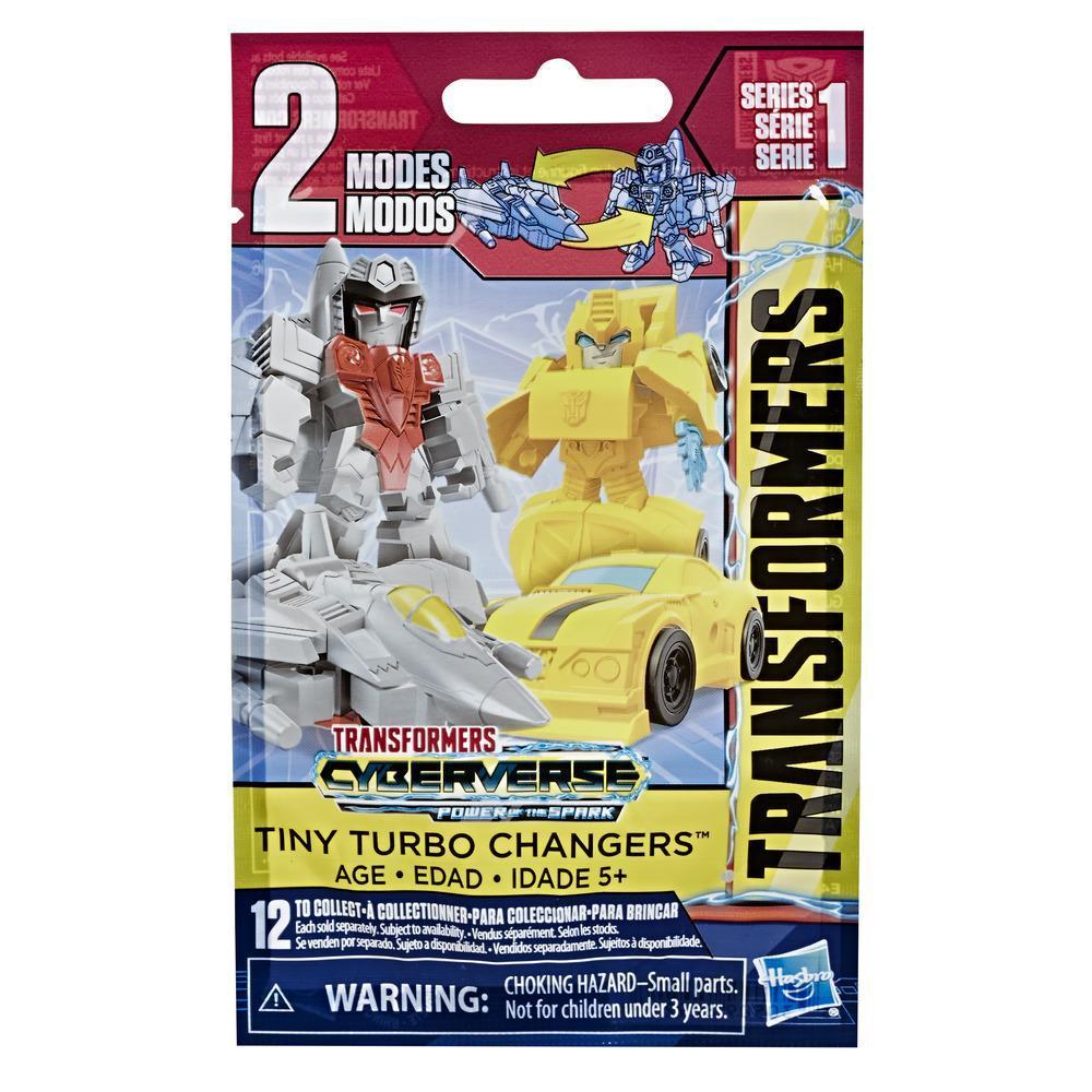 Juguetes Transformers Cyberverse - Tiny Turbo Changers -  Bolsitas sorpresa con figuras de acción de la Serie 2