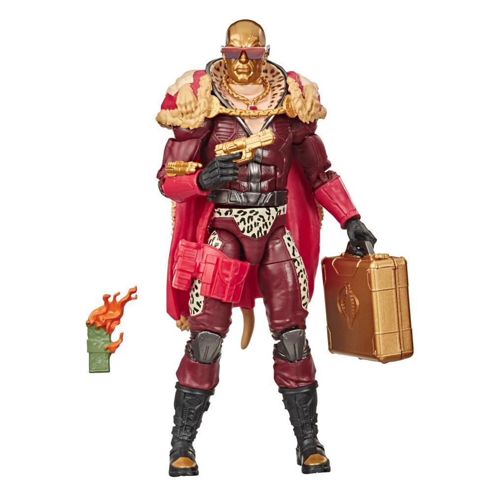 G.I. Joe Classified Series - Figura Profit Director Destro 15 en empaque con arte distintivo