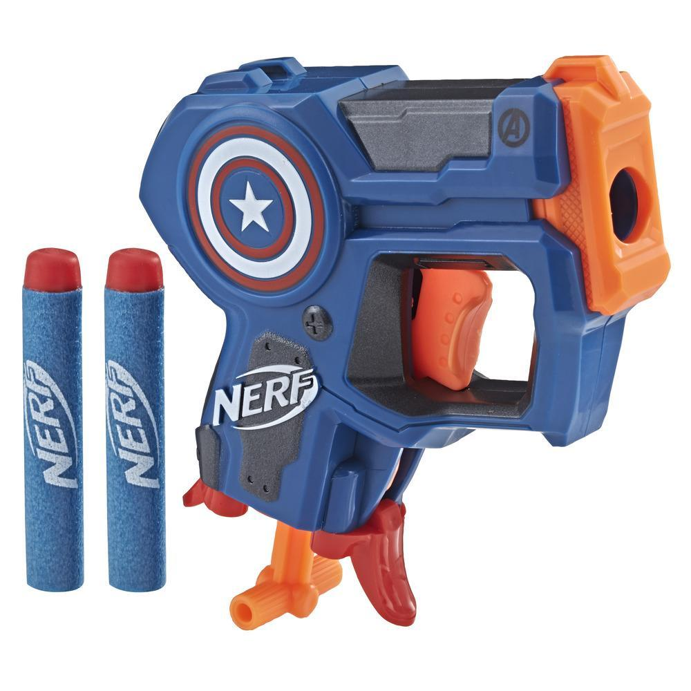 Nerf MicroShots Marvel Capitán América