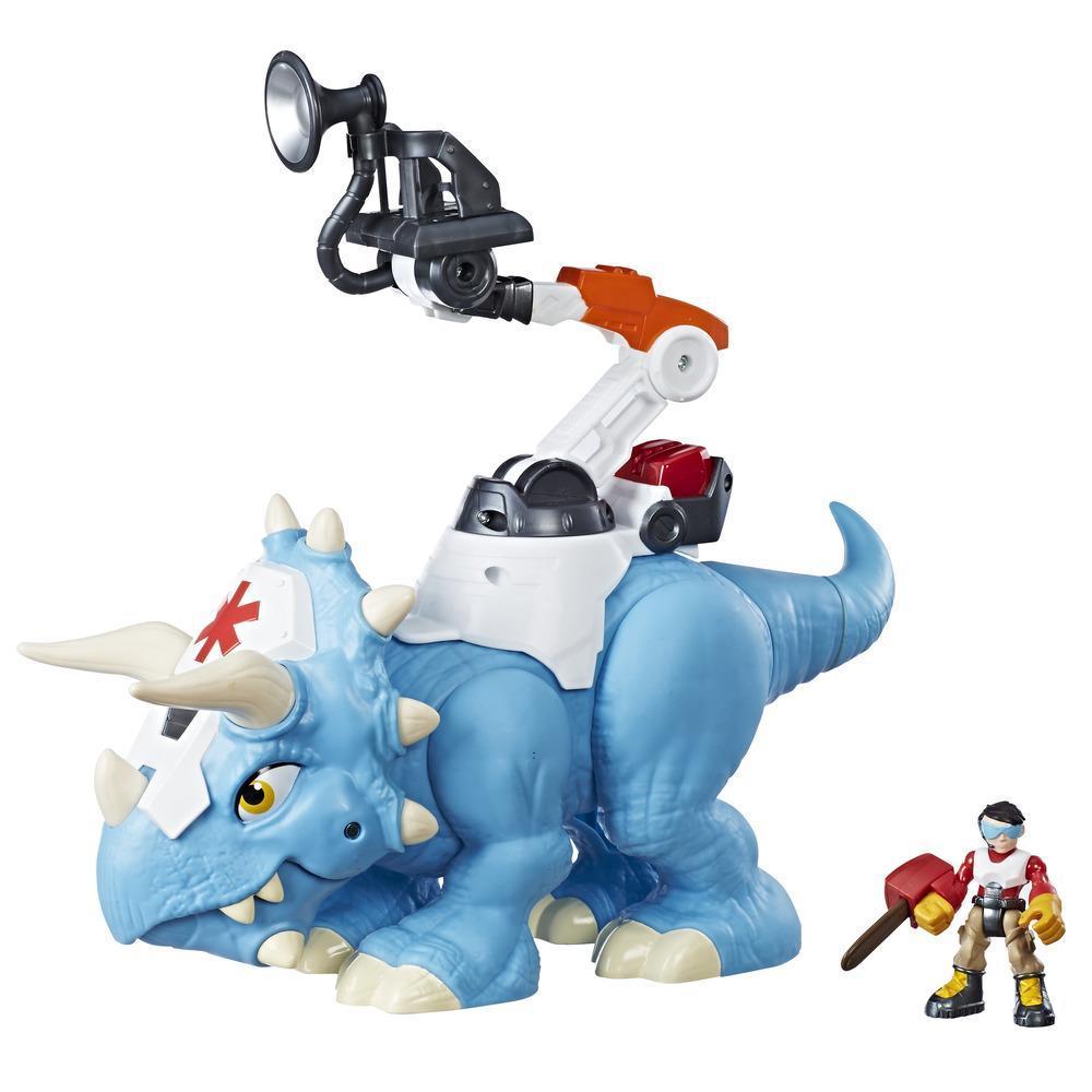 Playskool Heroes Chomp Squad - Doc Tops y Sam Scrubs