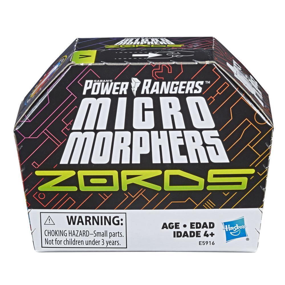 Juguetes Power Rangers - Micro Morphers Zords - Serie 1 - Figuras para regalar y coleccionar