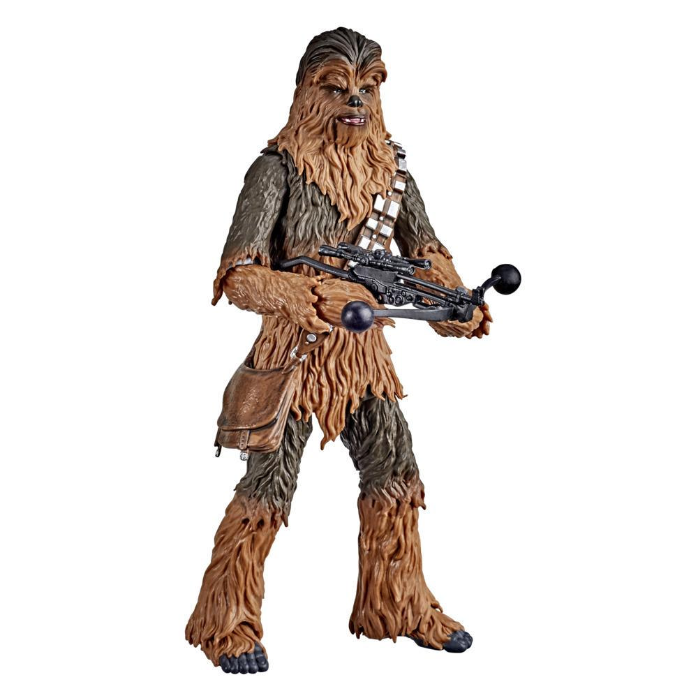 Star Wars The Black Series - Chewbacca a escala de 15 cm - Star Wars: El Imperio contraataca - Edad: 4+