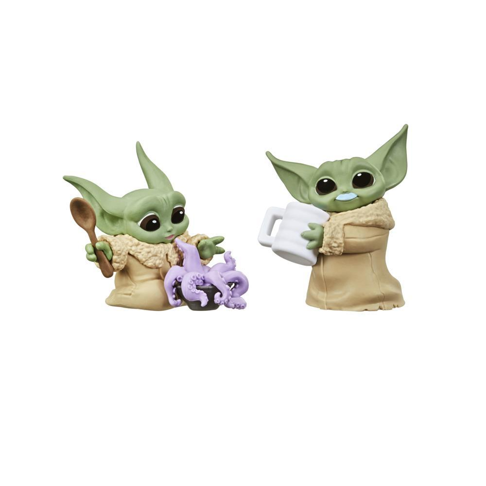 Star Wars The Bounty Collection - Serie 3 - Figuras The Child - Tentáculo en la sopa, bigote de leche azul