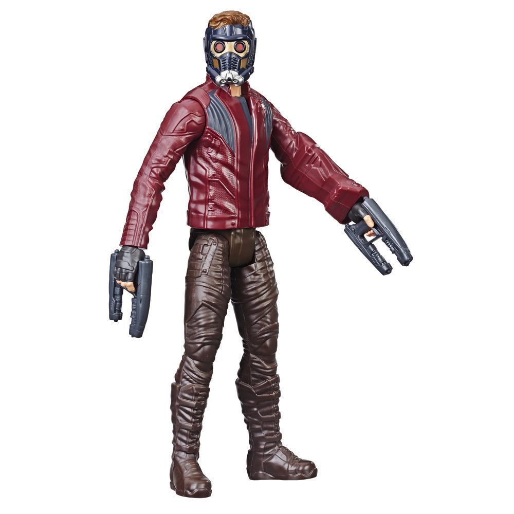 Marvel Avengers Titan Hero Series Star-Lord - Figura de superhéroe de 30 cm con puerto para Titan Hero Power FX
