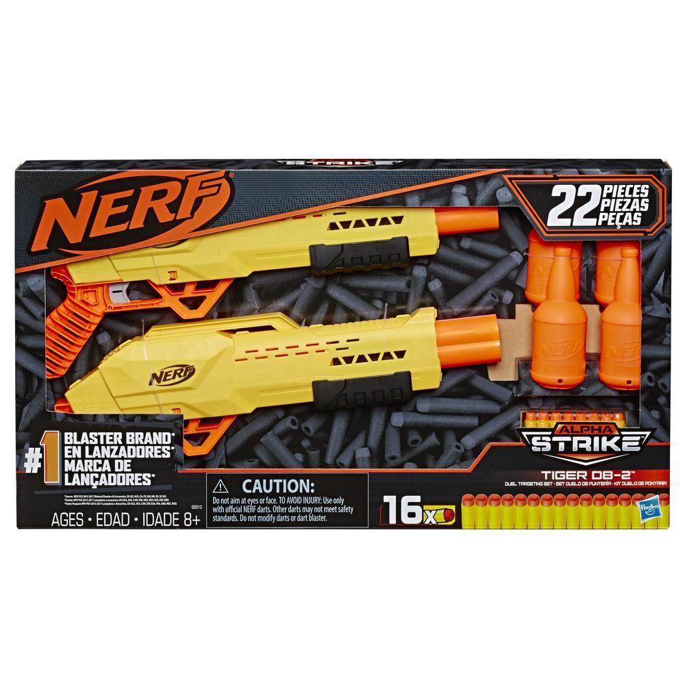 Set duelo de puntería Nerf Alpha Strike Tiger DB-2