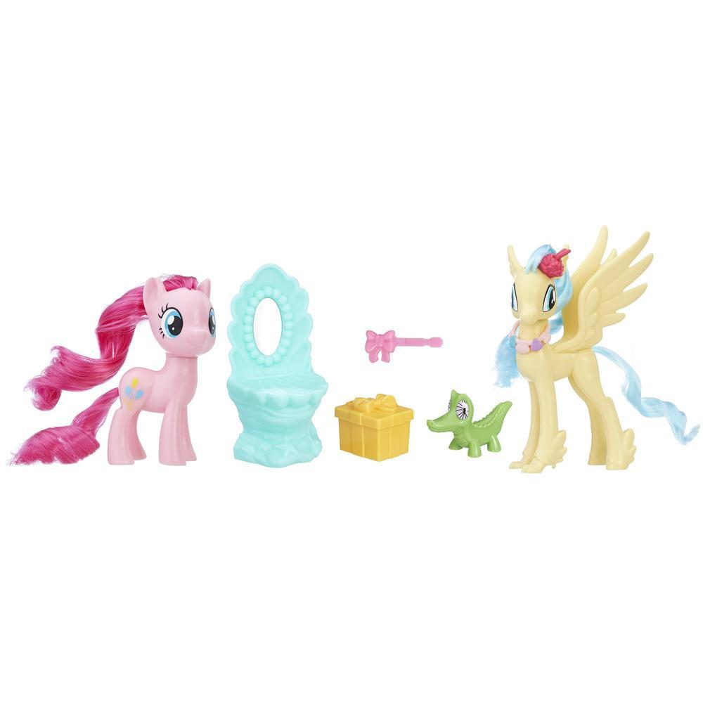 My Little Pony: The Movie - Juego Amigas de fiestas de Pinkie Pie y la Princesa Skystar