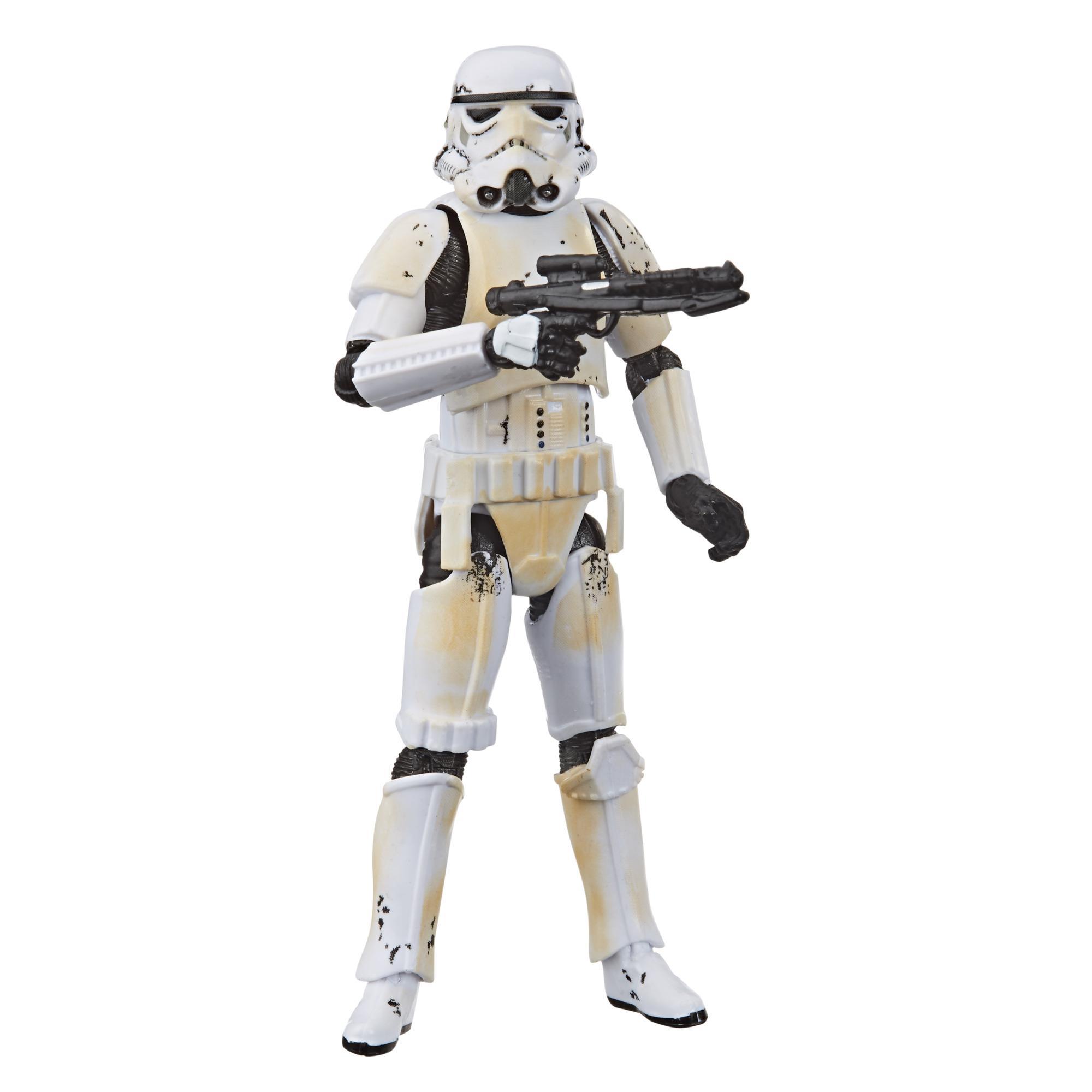 Star Wars La colección Vintage - The Mandalorian - Figura de Remnant Stormtrooper a escala de 9,5 cm - Edad: 4+